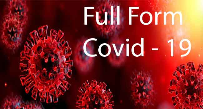 full form of corona virus covid 19